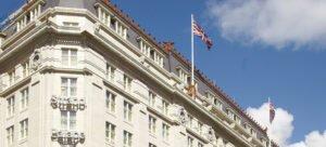 Strand Palace Hotel facade