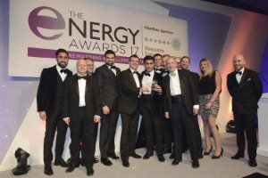 Pulse Business Energy wins the Energy Buying Team of the Year at the Energy Awards 2017 [Image: Pulse Business Energy]