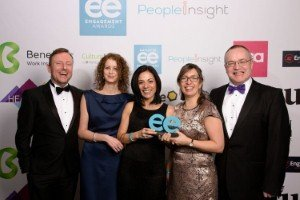 Arrow Business Communications wins the Employer Brand of the Year Award [Image: Arrow Business Communications]