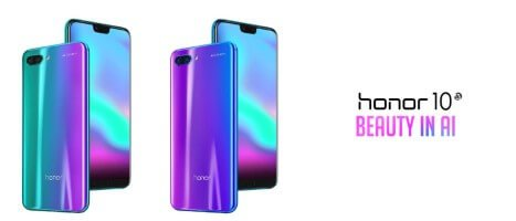Camera AI and curved glass: Honor 10 released [Image: Honor]