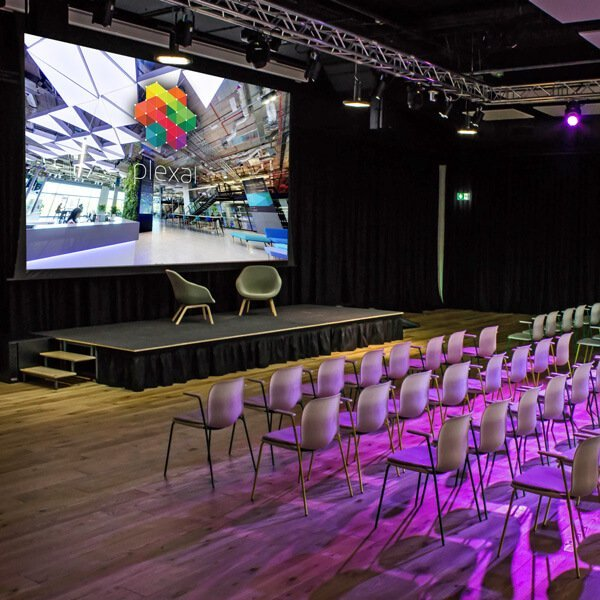 Plexal's 200 seat Auditorium