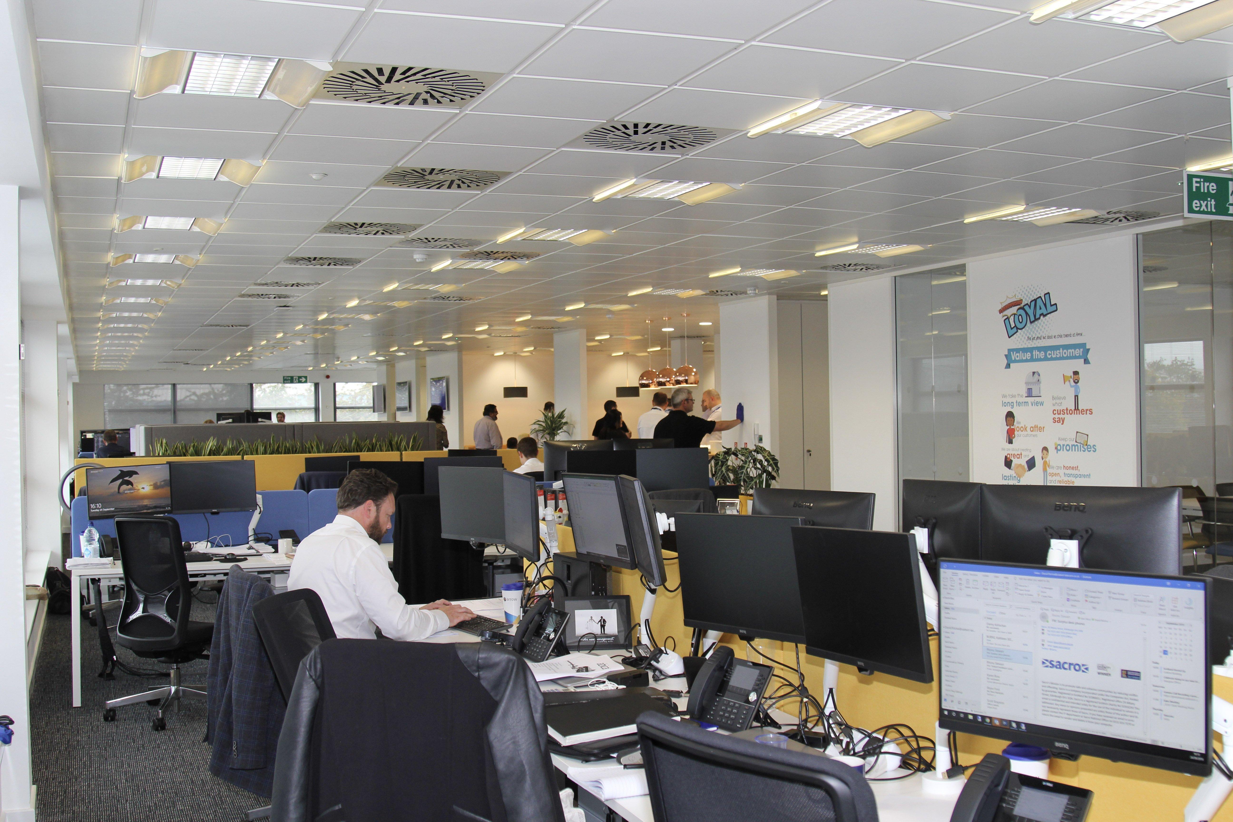 Arrow office Glasgow