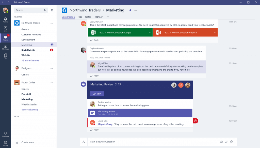 microsoft teams channel team collaboration
