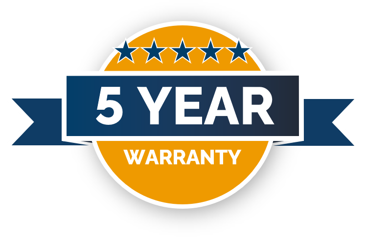 Swift 5 Year Warranty on Hardware