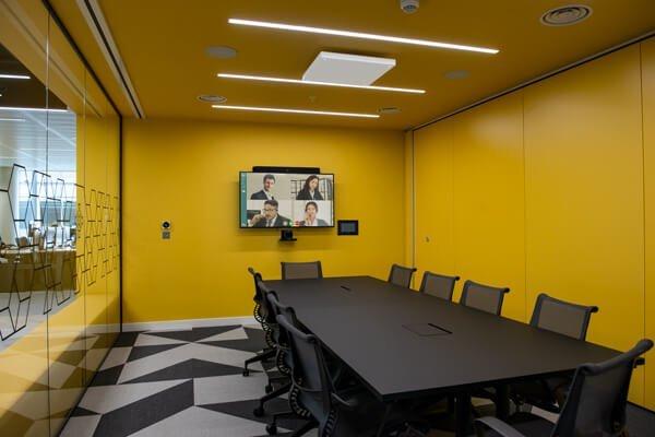 BAT Case study Meeting Room camera screen control