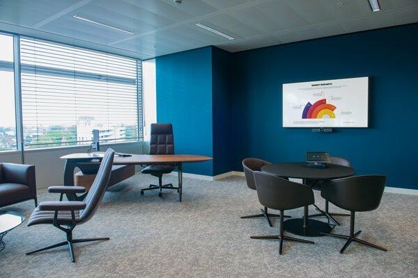 British American Tobacco Case study CEO room audio visual