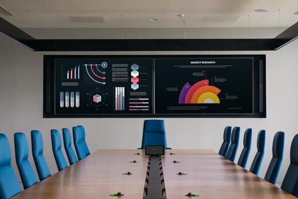 BAT Case study meeting room audio visual