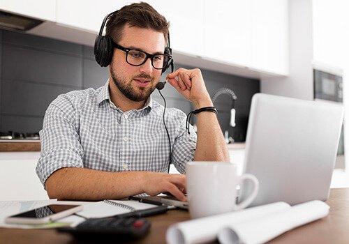 Voice Communication over laptop