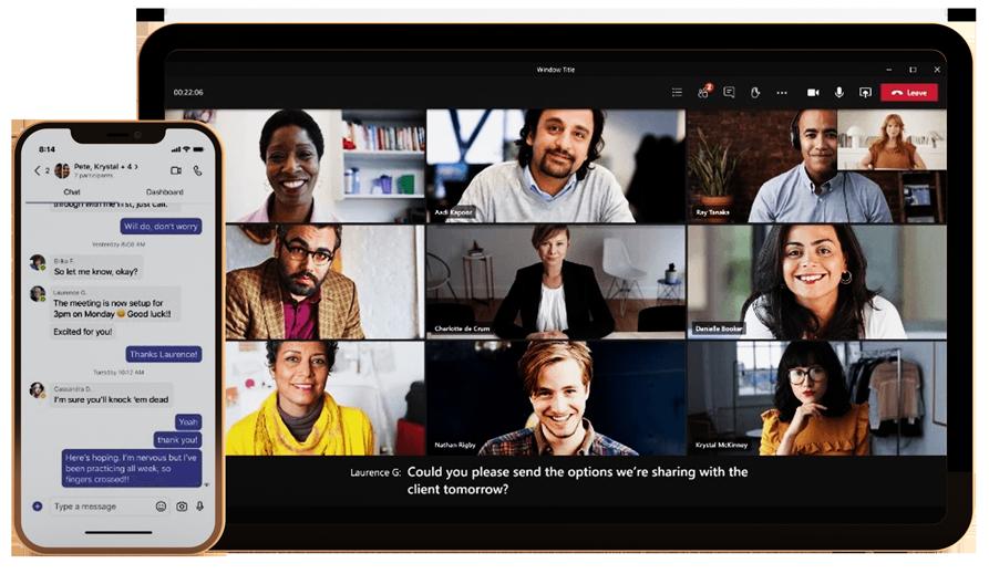 Microsoft Teams Tablet